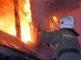 9 сентября в Мысках горели на Дружной и Береговой