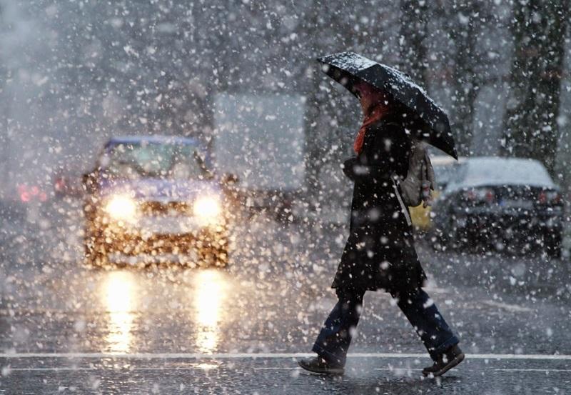 Кузбассовцам обещают дожди с мокрым снегом