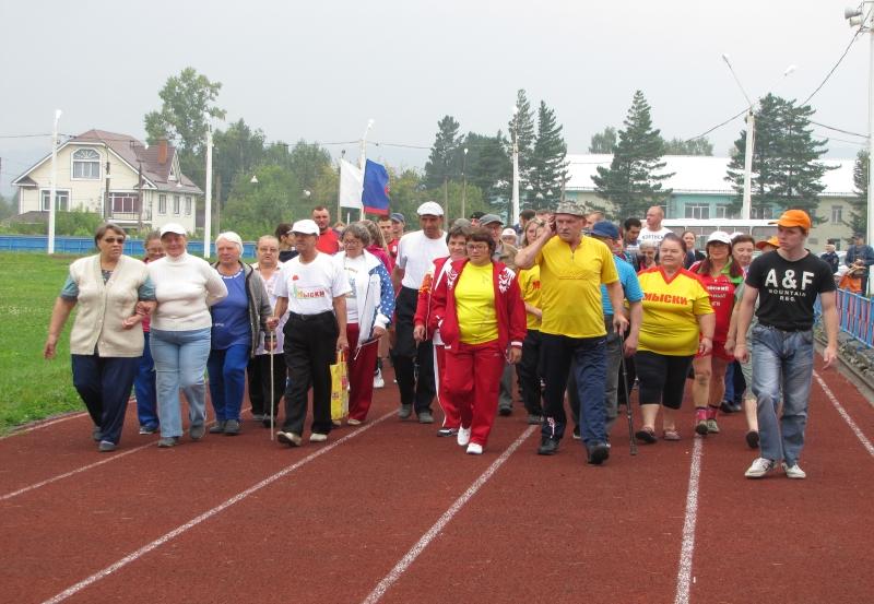 В Мысках прошли VII городские паралимпийские игры