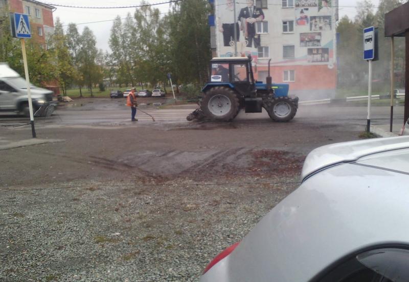 Административные службы города Мыски отработали обращения жителей ГРЭСа