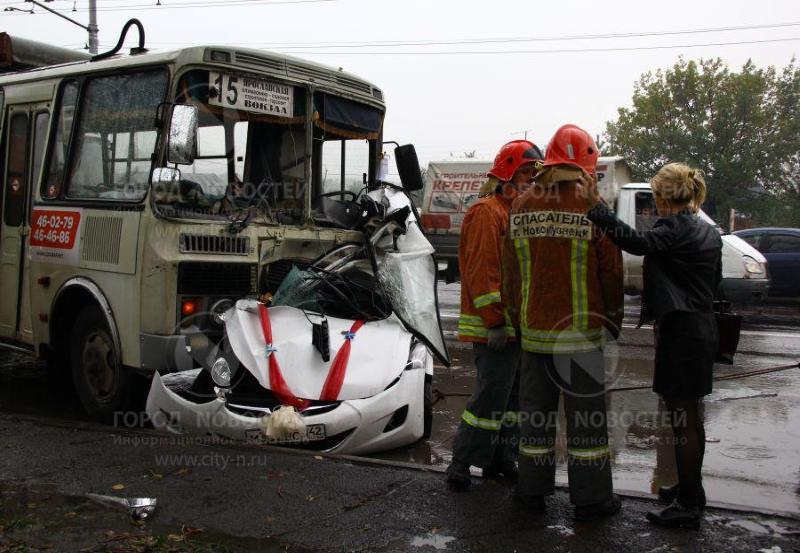 Трагедия в Новокузнецке. Разбился свадебный кортеж