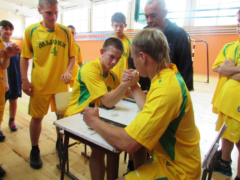 В Мысках состоялись I городские паралимпийские игры среди детей