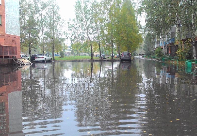 Вновь потоп. На 17 квартале столько воды ещё не видели