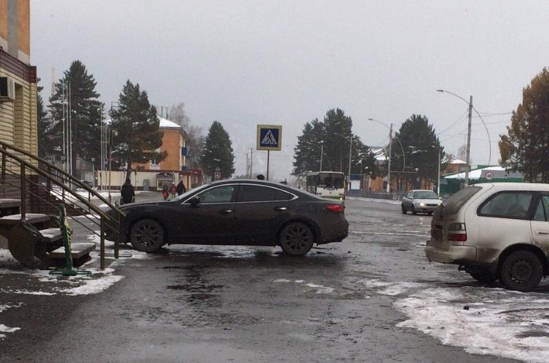 Мастер парковки в Мысках