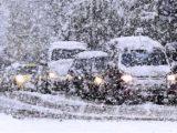 Погода в Кузбассе: мокрый снег, метели, усиление ветра