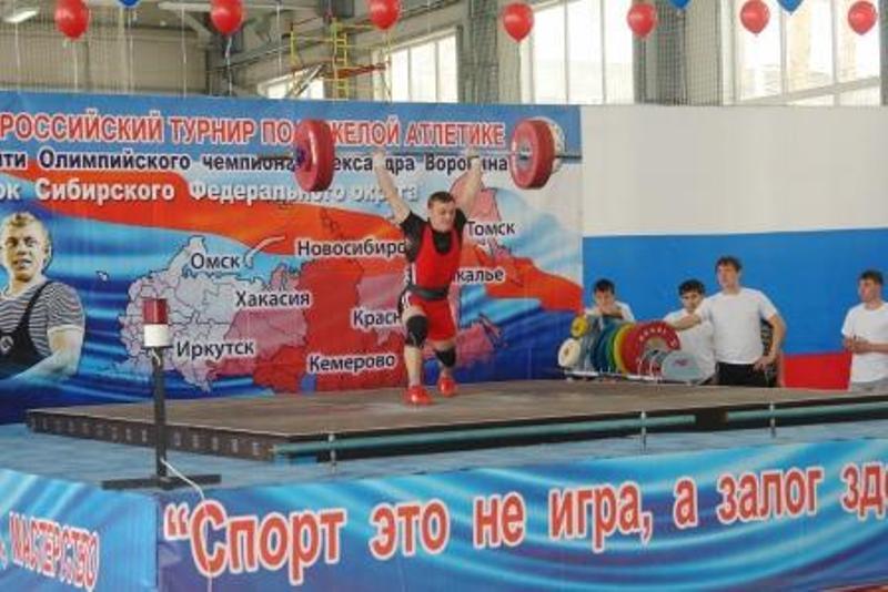 Спортсмен из Мысков стал победителем Всероссийских соревнований по тяжелой атлетике
