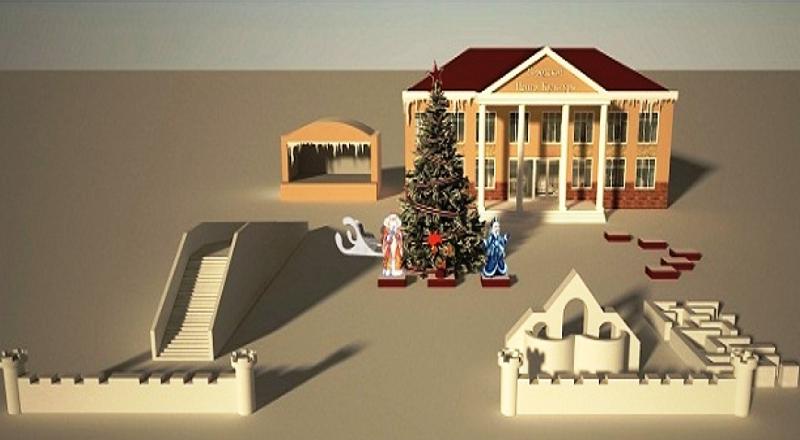 В администрации Мысков рассмотрели проекты будущих снежных городков