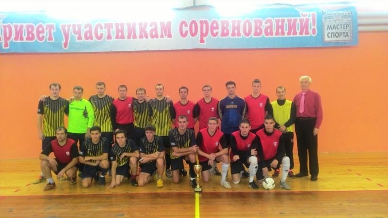 В Мысках состоялся футбольный матч между сборными Мысков и Междуреченска