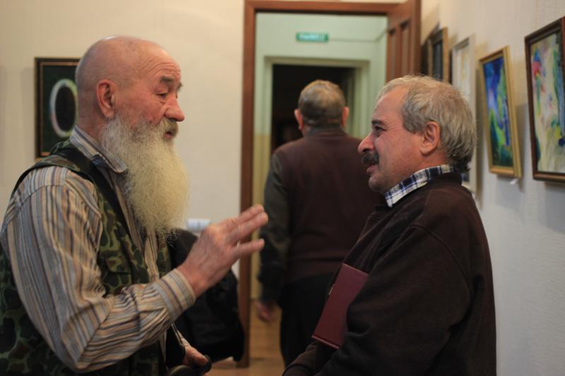 В зале галереи «АРТ Сегодня» в «ДК им.Горького» открылась выставка «Прикоснись к красоте»