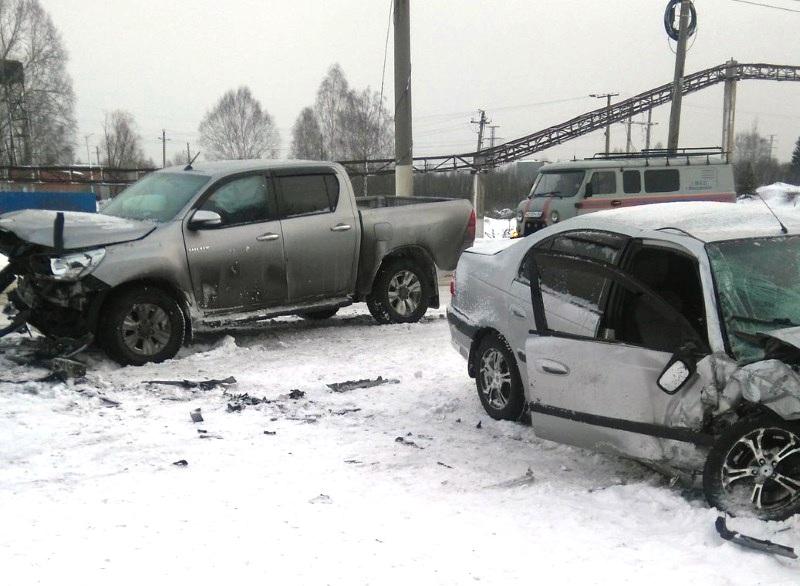 В Мысках произошло ДТП на Шоферском, есть пострадавшие
