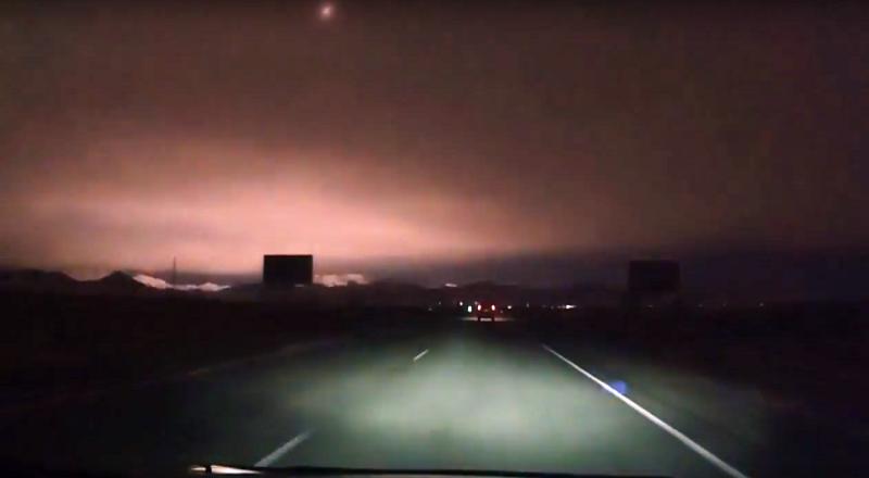 Несколько часов назад в Хакасии упал метеорит