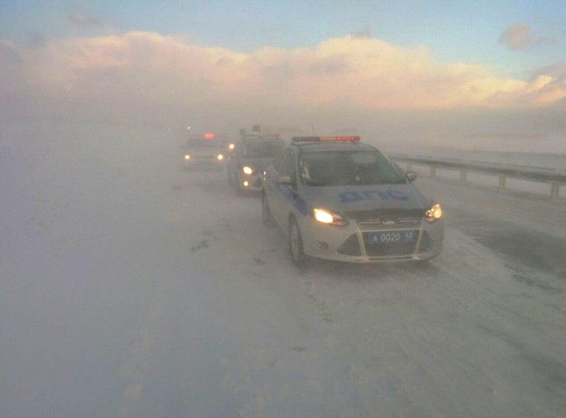 ГИБДД Кузбасса информирует о неблагоприятных погодных условиях