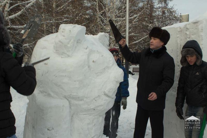 В Мысках состоится конкурс «Мастера снежных фигур-2017»