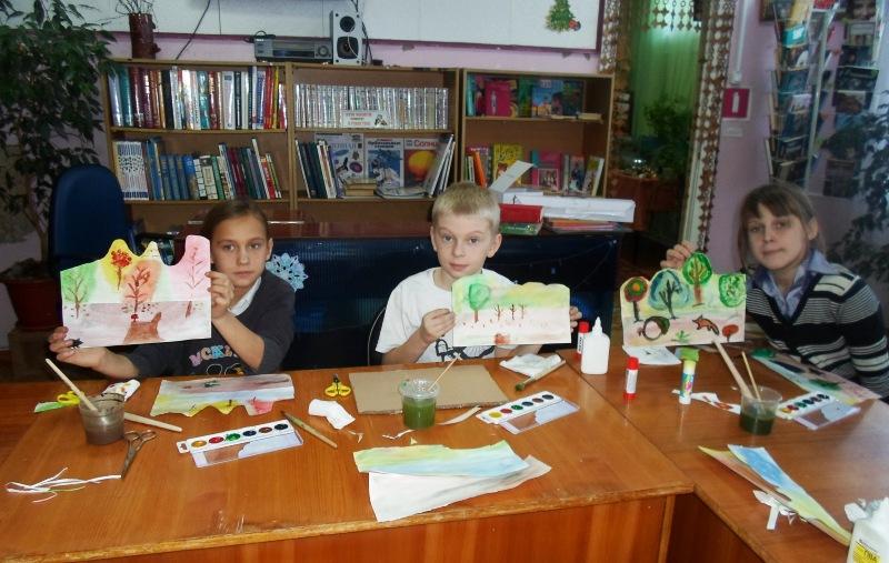 В библиотеке Мысков прошел мастер-класс по рисованию акварелью