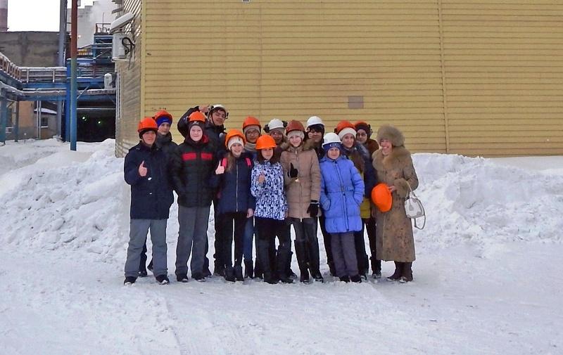 Школьники Мысков познакомились с гигантом энергетики