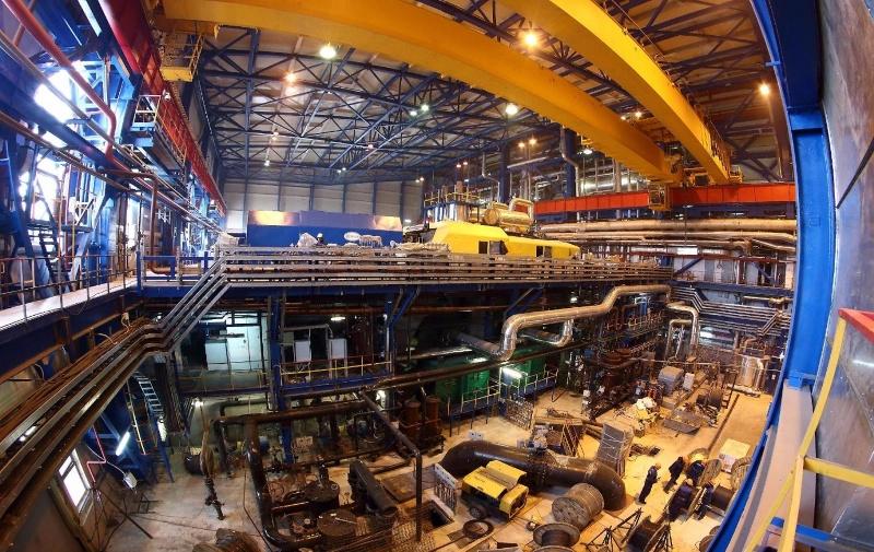 На Томь-Усинской ГРЭС проводится реконструкция высоковольтного оборудования