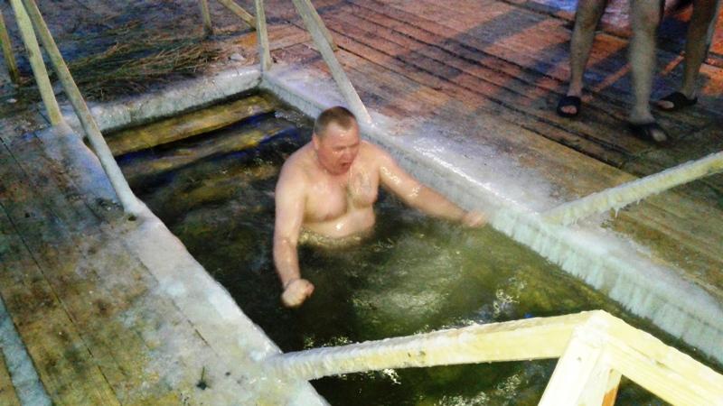 Крещенские купания в Мысках. Как это было?