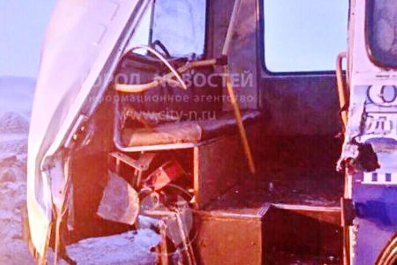 ДТП с автобусом на разрезе Кийзасский