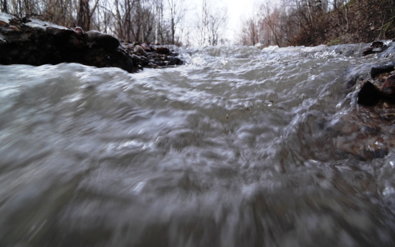 В Мысках городские службы готовятся к пропуску паводковых вод