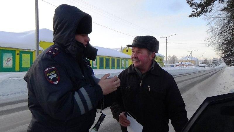 ГИБДД Мысков проводят профилактические мероприятия