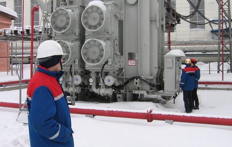 На Томь-Усинской ГРЭС введен в эксплуатацию новый блочный трансформатор