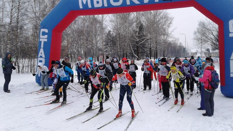 В Мысках состоятся соревнования по лыжным гонкам