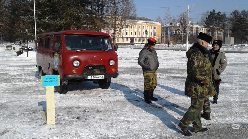 В Мысках казаки станицы «Мысковская» помогут следить за уровнем воды в реках