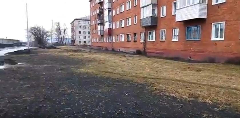 Насколько грязно в поселке Ключевой?