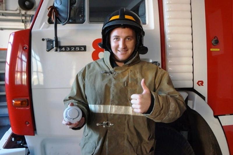 В Мысках 30 семей будут оборудованы современными пожарными извещателями