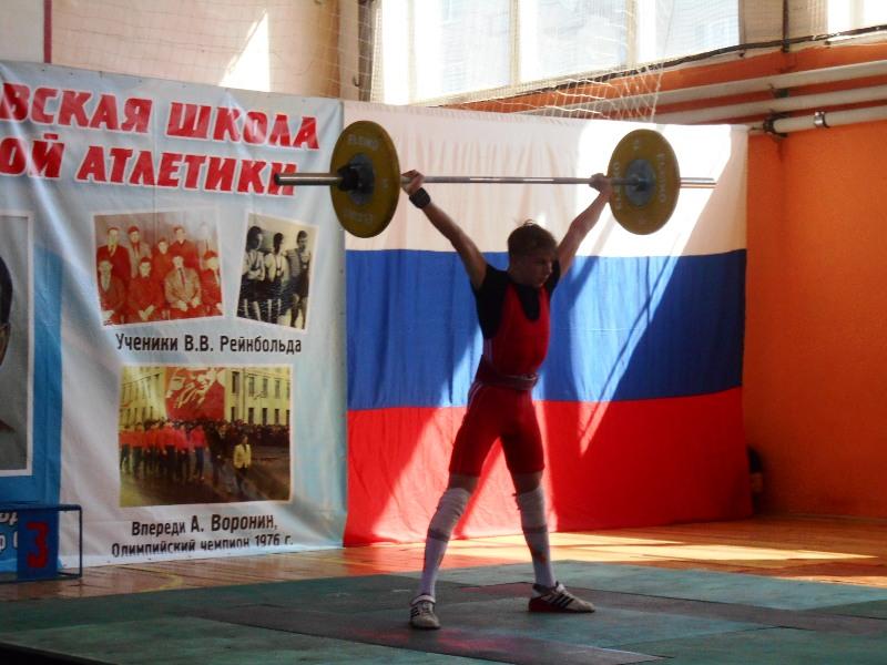 В Мысках прошли соревнования по тяжелой атлетике
