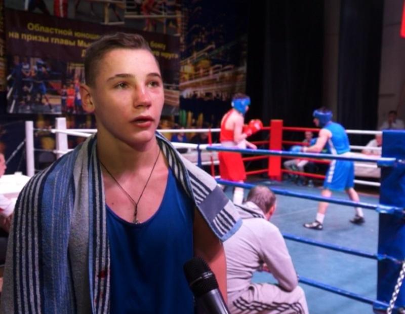 Мысковчанин Никита Мокрушин стал победителем Первенства СФО по боксу