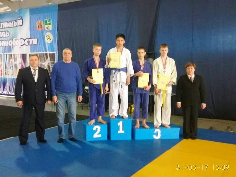 Мысковчане завоевали призовые места на открытом первенстве по дзюдо в городе Новокузнецк