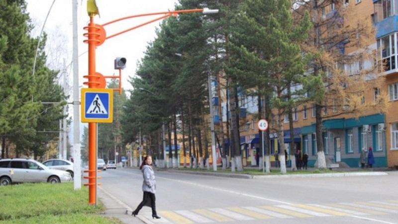 В Мысках появятся пять светофоров на пешеходных переходах