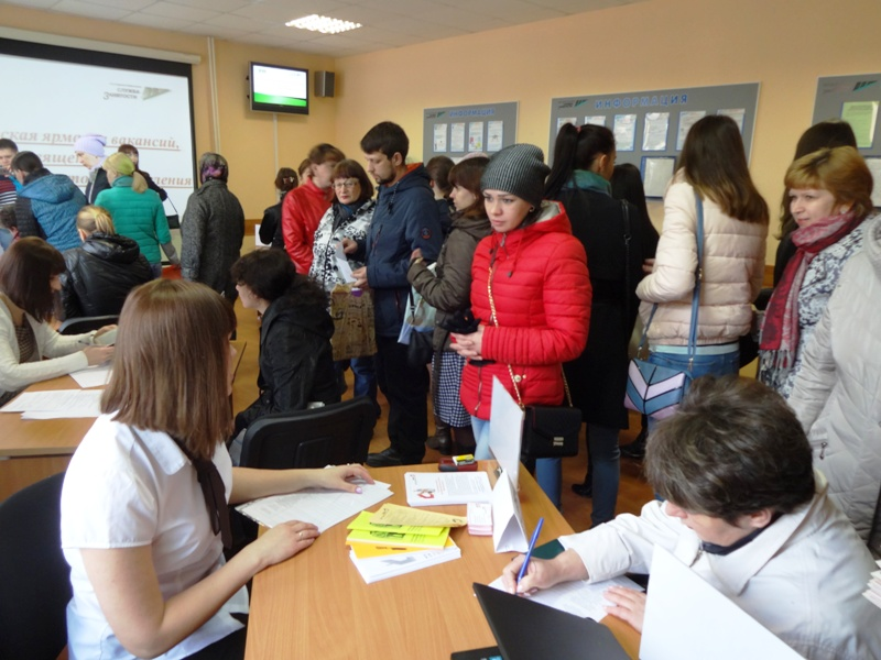 В Центре занятости Мысков прошла мини-ярмарка вакансий