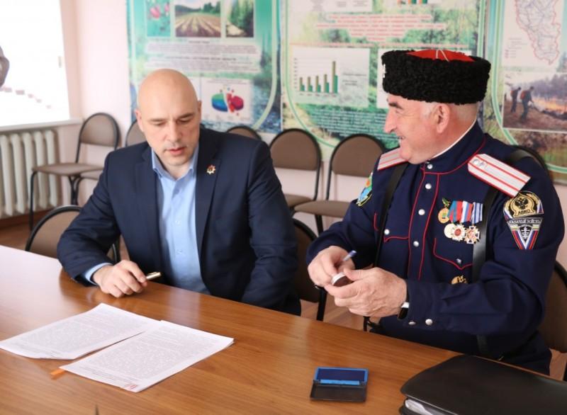 Лесничие будут охранять леса Кузбасса вместе с казаками станицы «Мысковская»
