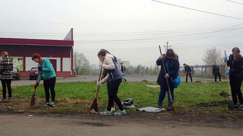 Мысковчане приняли участие во Всероссийской акции «Зеленая Россия»