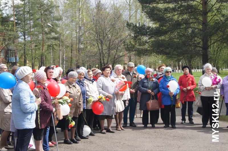 На мемориале «Тыл-фронту» состоялся митинг, посвященный Дню Победы
