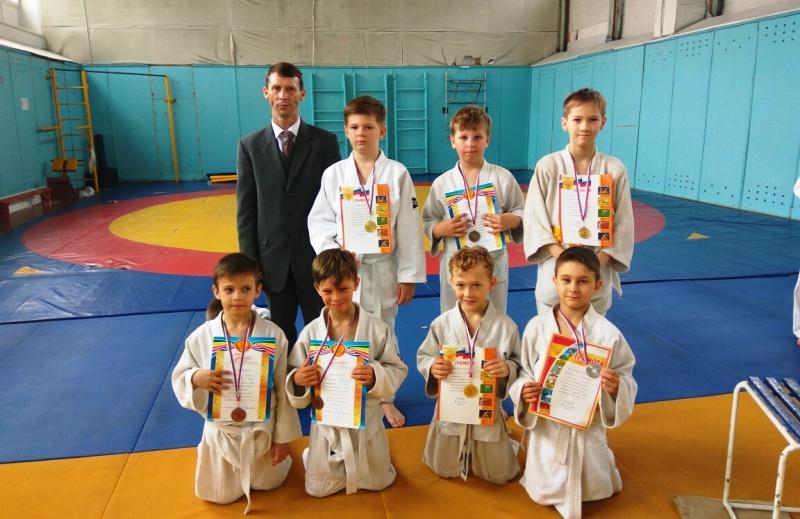 В Мысках состоялись соревнования по дзюдо
