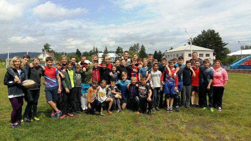 Тренировочные мероприятия по регби перед Спартакиадой учащихся России, прошли на СК «Энергетик»