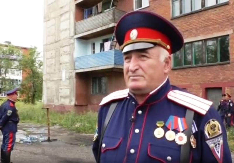 Казаки станицы «Мысковская» на страже порядка