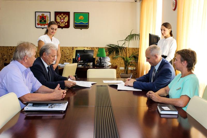 СГК и администрация Мысков заключили соглашение о сотрудничестве
