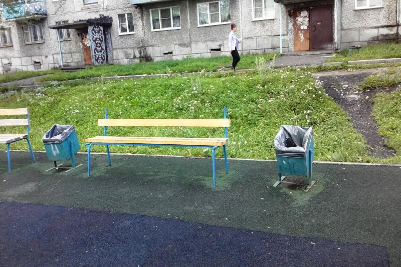 Спортивная площадка на Лермонтова приведена в порядок