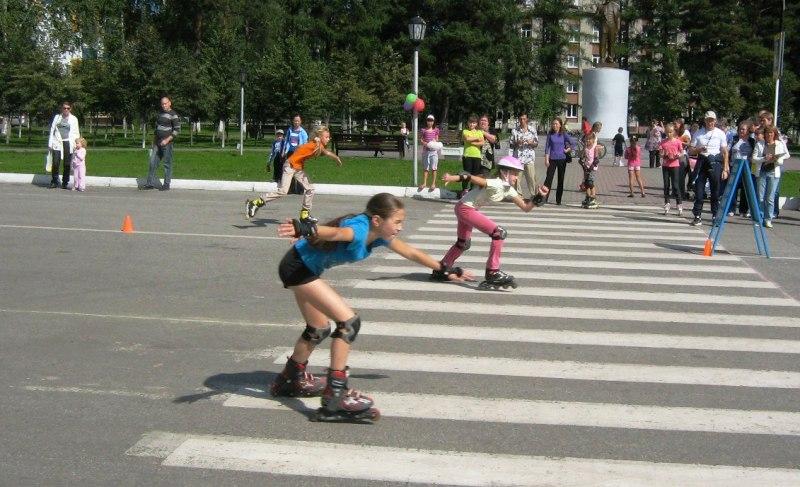 В Мысках для детей состоится спортивный праздник «Весёлые ролики»