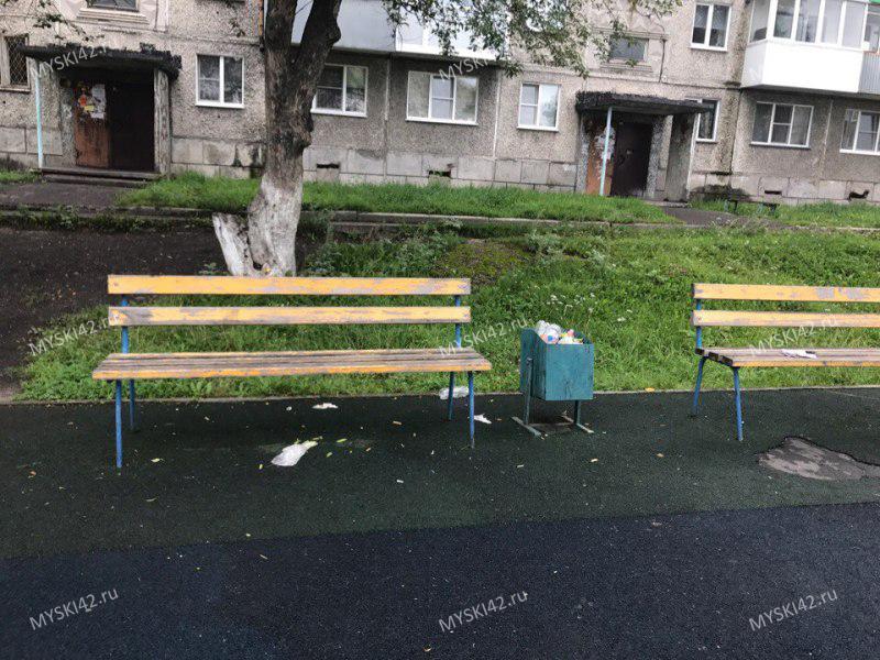 Мысковчане возмущены уборкой спортивной площадки на Лермонтова