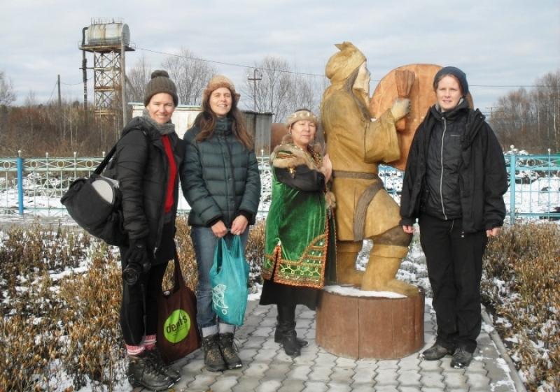 Центр духовной культуры шорского народа «Эне Таг» посетили иностранцы