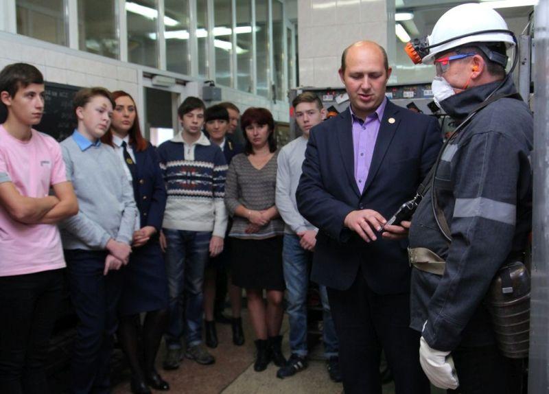 В компании «Южный Кузбасс» прошла экскурсия для школьников