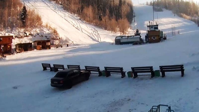 На СОК «Мрас-Су» начала свою работу горнолыжная трасса