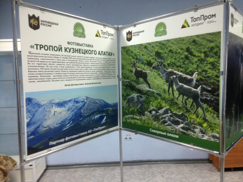 На фотовыставке «Тропой «Кузнецкого Алатау»» побывали учащиеся городской школы №3