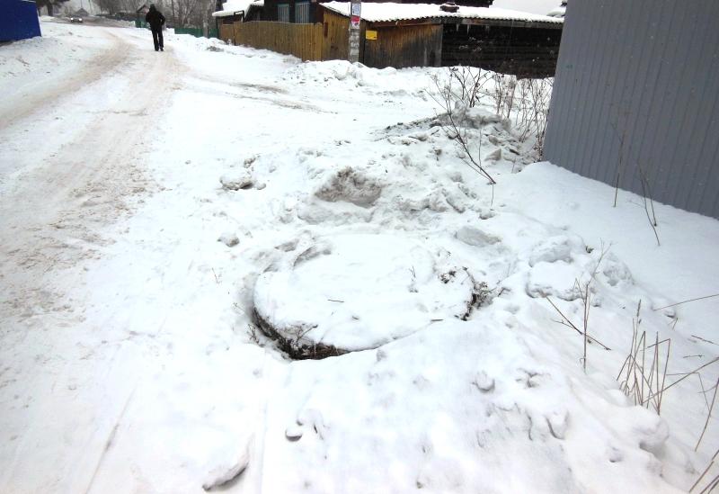 Опасный колодец на пересечении улиц Куюкова и Кийзакская закрыт