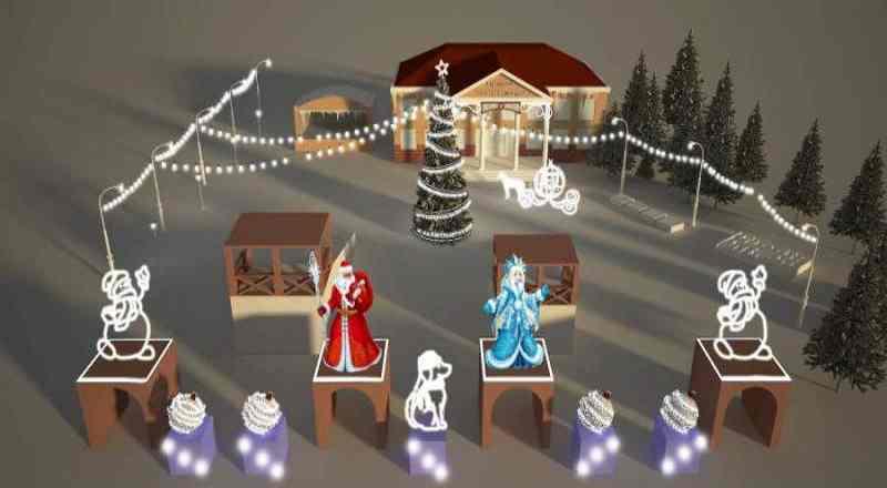 20 декабря в Мысках состоится праздничное открытие снежных городков